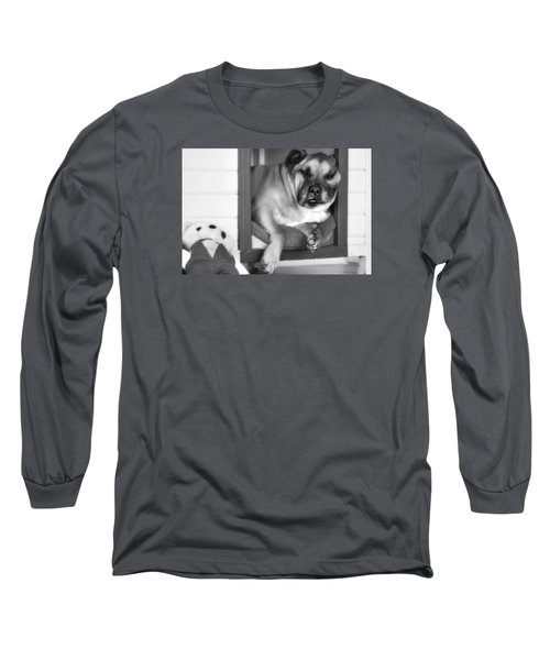 Long Sleeve T-Shirt featuring the photograph My Afternoon Nap 01 by Kevin Chippindall