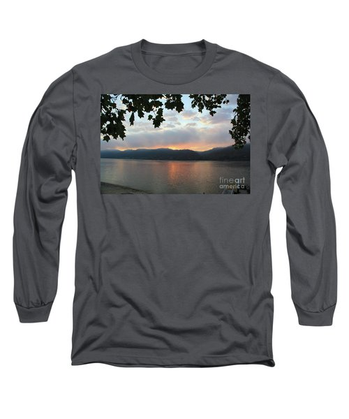 My Birthday Sunrise Long Sleeve T-Shirt