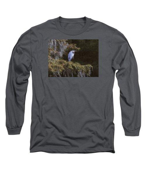 My Blue Heron Long Sleeve T-Shirt