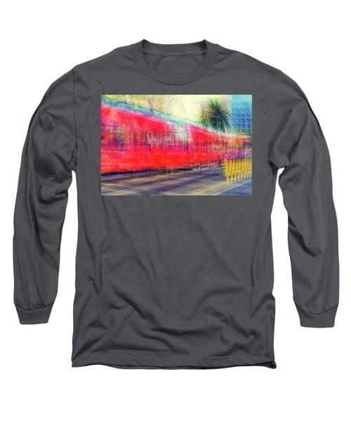 My City's Got A Trolley Long Sleeve T-Shirt