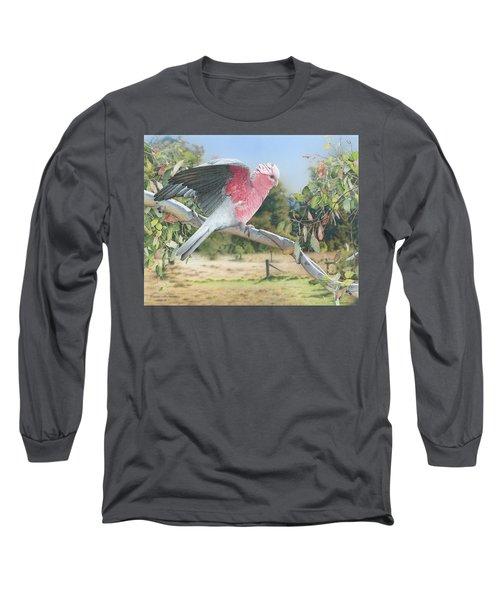 My Country - Galah Long Sleeve T-Shirt