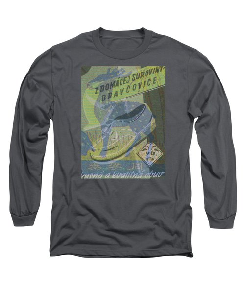 Long Sleeve T-Shirt featuring the digital art My Deer Shoe by Nop Briex