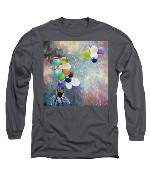 My Friend The Wind. Long Sleeve T-Shirt