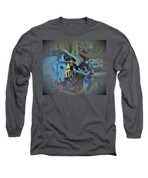 Long Sleeve T-Shirt featuring the photograph My Friends by John Glass