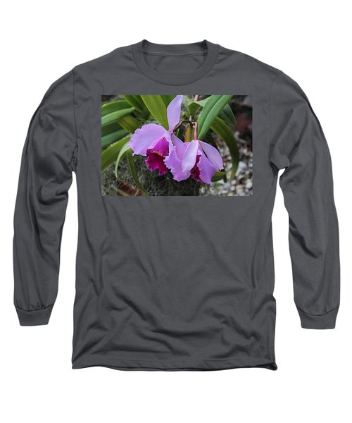 Long Sleeve T-Shirt featuring the photograph My Orbit by Michiale Schneider