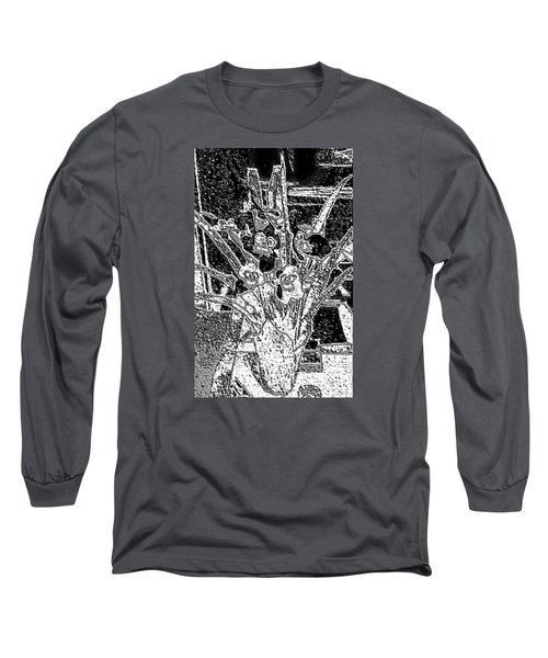 My Orchids Long Sleeve T-Shirt by Vickie G Buccini
