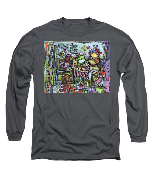 My Party Long Sleeve T-Shirt by Sandra Church