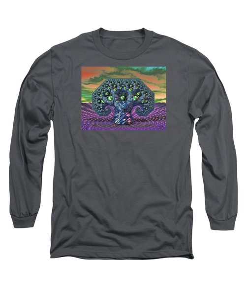 My Pythagoras Tree Long Sleeve T-Shirt