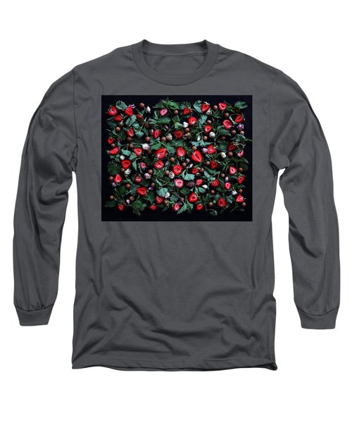 My Real Strawberry Patch Long Sleeve T-Shirt