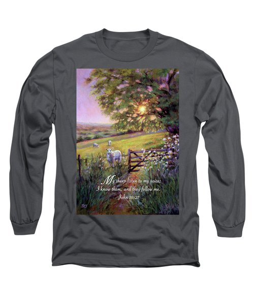 My Sheep Hear My Voice Long Sleeve T-Shirt