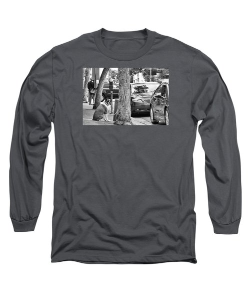 My Street, Dude Long Sleeve T-Shirt by Vinnie Oakes