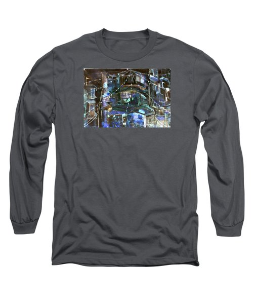 My Town In Festive Mood Long Sleeve T-Shirt