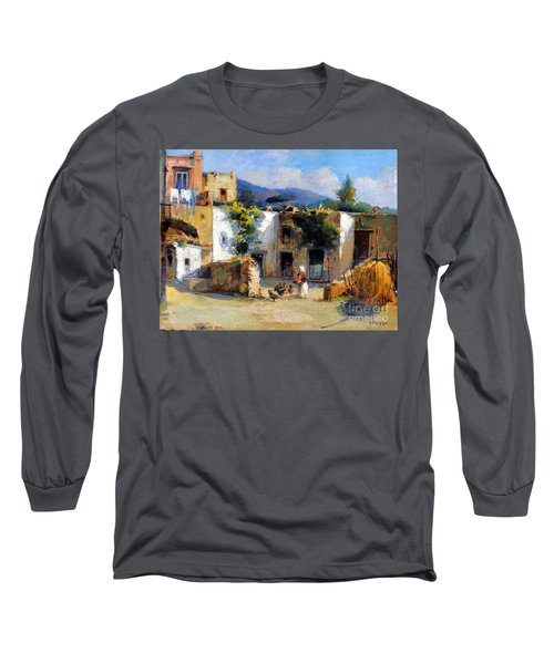 My Uncle Farm House Long Sleeve T-Shirt