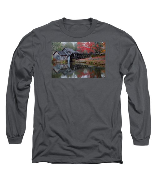 My Version Of Mabry Mills Virginia  Long Sleeve T-Shirt