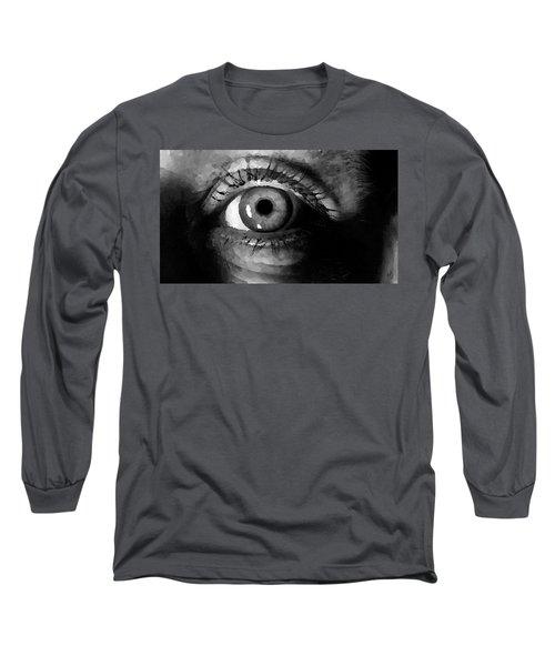 My Window In Bw Long Sleeve T-Shirt