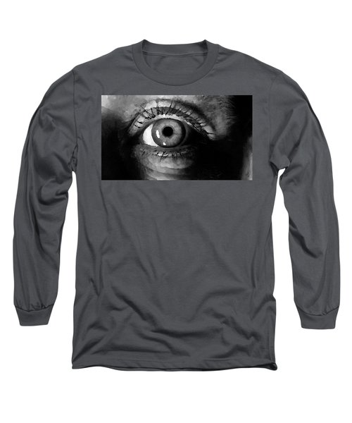 My Window In Bw Long Sleeve T-Shirt