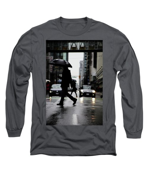 My World Hers Two Long Sleeve T-Shirt by Empty Wall