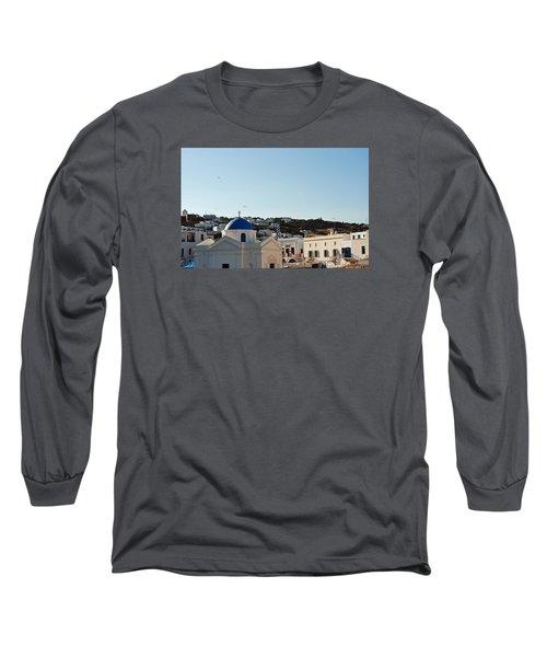 Mykonos Sunrise Long Sleeve T-Shirt