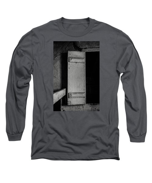 Mysterious Attic Door  Long Sleeve T-Shirt by Off The Beaten Path Photography - Andrew Alexander