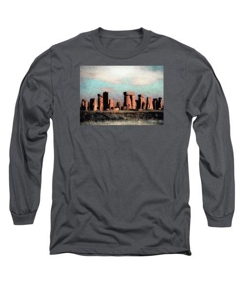 Mysterious Stonehenge Long Sleeve T-Shirt