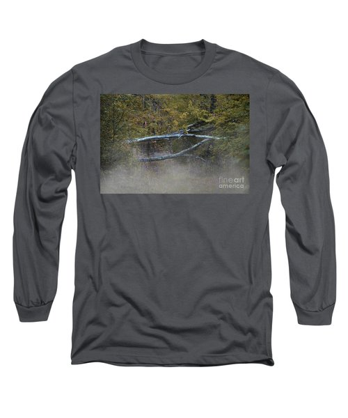 Long Sleeve T-Shirt featuring the photograph Mystery In The Fall by Skip Willits