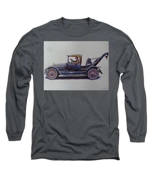Mystery Wrecker 1930. Long Sleeve T-Shirt by Mike  Jeffries