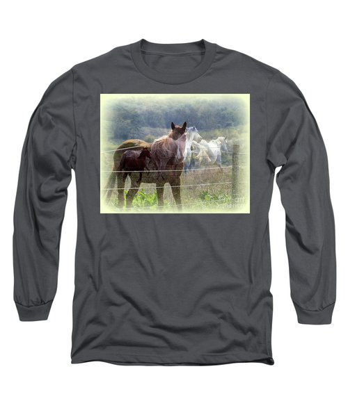 Mystic Horses Long Sleeve T-Shirt