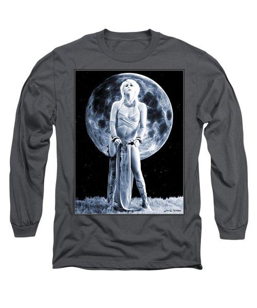 Mystic Slave Girl Long Sleeve T-Shirt