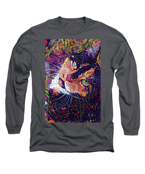 Mystical Calico  Long Sleeve T-Shirt