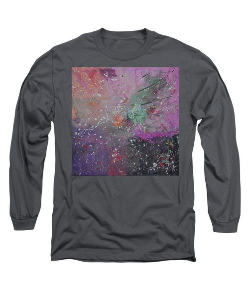 Long Sleeve T-Shirt featuring the painting Mystical Dance by Michael Lucarelli