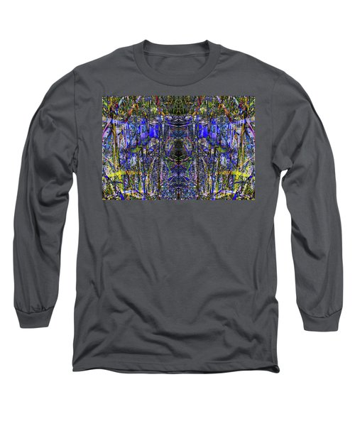 Winter Walk In The Weeds Long Sleeve T-Shirt