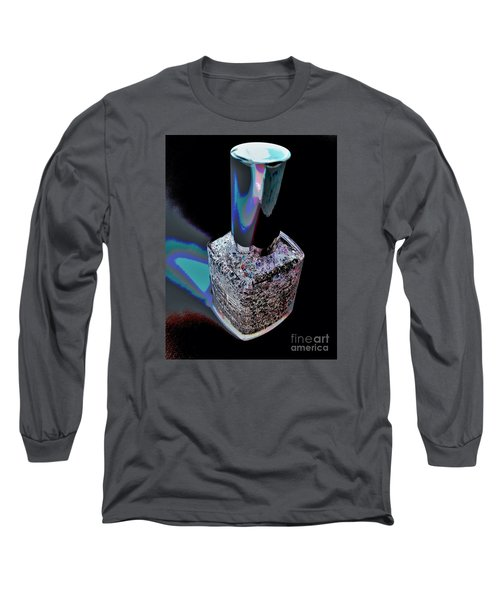 Nail Polish On The Stage Long Sleeve T-Shirt by Jasna Gopic