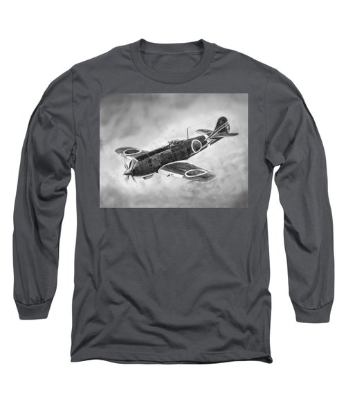 Nakajima Ki84 Long Sleeve T-Shirt