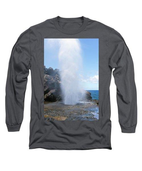 Nakalele Blowhole Long Sleeve T-Shirt
