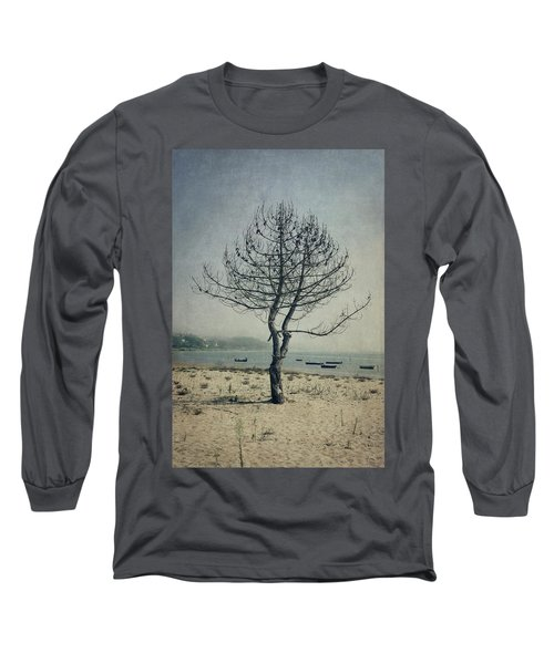 Long Sleeve T-Shirt featuring the photograph Naked Tree by Marco Oliveira