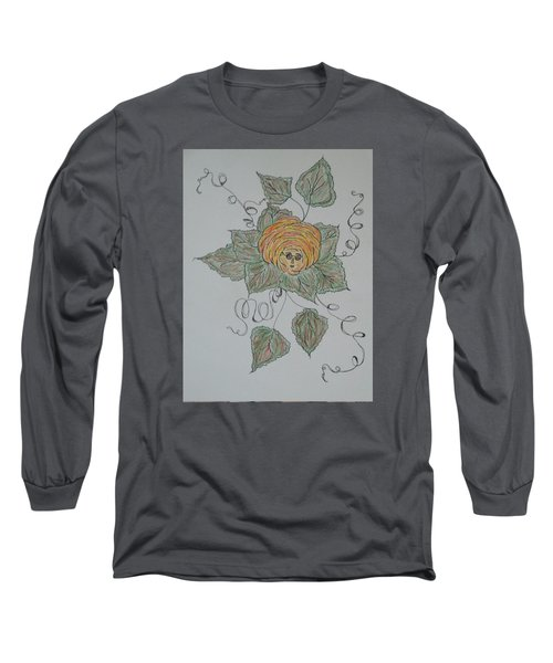 Nana Rose Is Here Long Sleeve T-Shirt by Sharyn Winters