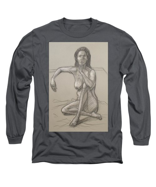 Nancy   Long Sleeve T-Shirt by Donelli  DiMaria