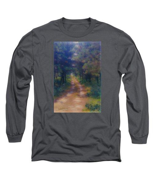 Nantucket Paths #1 Long Sleeve T-Shirt