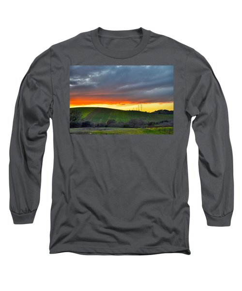Napa Sunrise Long Sleeve T-Shirt