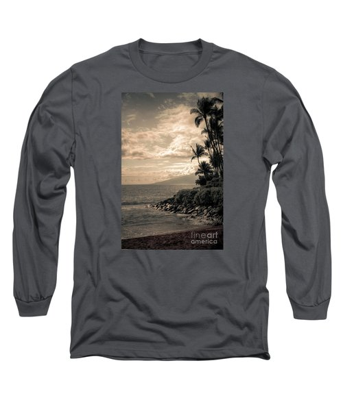Long Sleeve T-Shirt featuring the photograph Napili Heaven by Kelly Wade