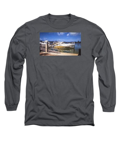 Naples Dock Long Sleeve T-Shirt