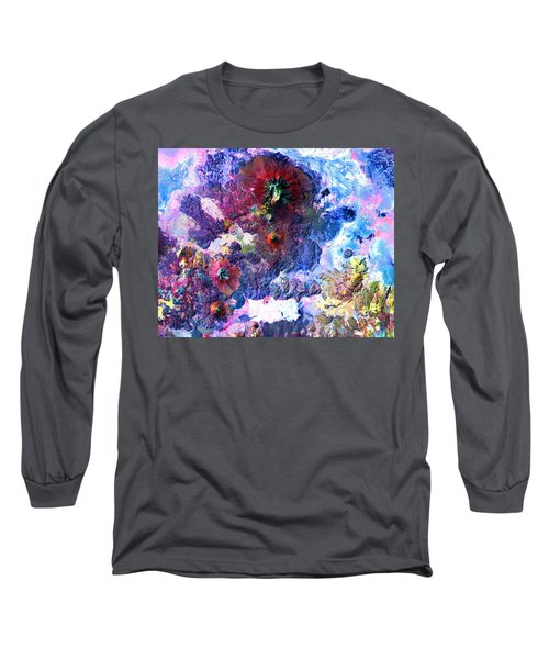 Nasa Image-andes Mts., Chile - Bolivia-2  Long Sleeve T-Shirt