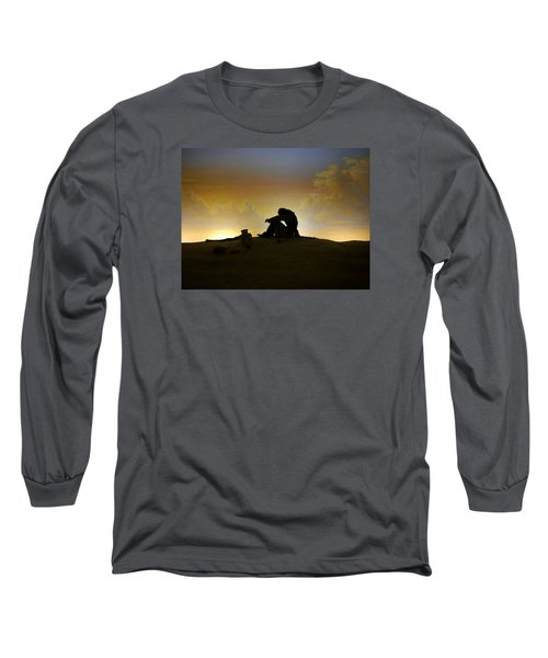 Long Sleeve T-Shirt featuring the photograph Nassau - Marooned by Richard Reeve