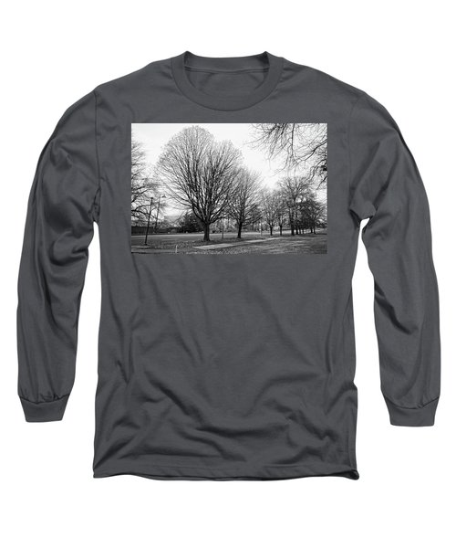 Long Sleeve T-Shirt featuring the photograph Natio Parkway by Angi Parks