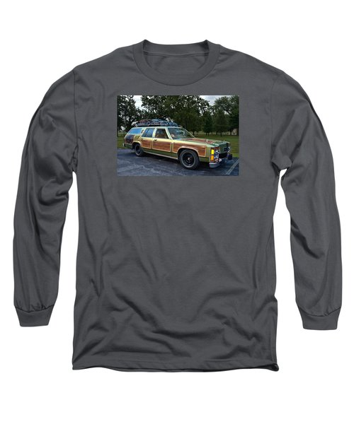 National Lampoons Vacation Truckster Replica Long Sleeve T-Shirt