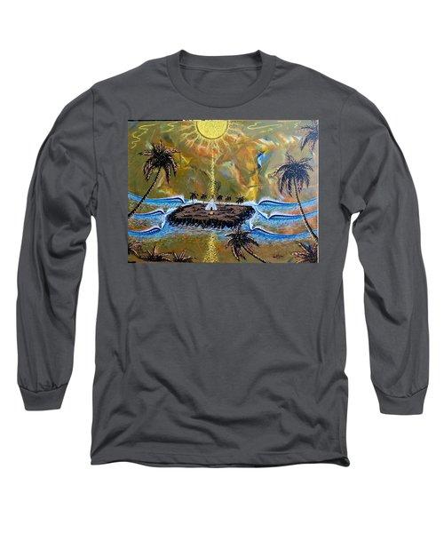 Native Sunset Dream Long Sleeve T-Shirt