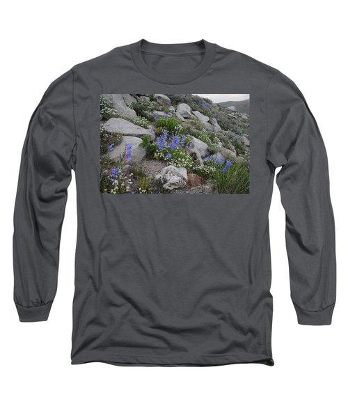Long Sleeve T-Shirt featuring the photograph Natural Garden by Jenessa Rahn