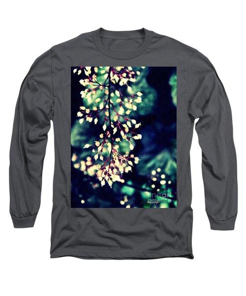 Natural Lace 2 Long Sleeve T-Shirt by Sarah Loft