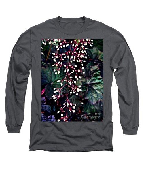Natural Lace Long Sleeve T-Shirt by Sarah Loft