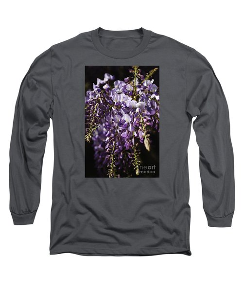 Natural Wisteria Bouquet Long Sleeve T-Shirt